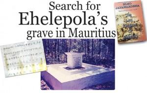 eLanka   Search for Ehelepola's grave in Mauritius