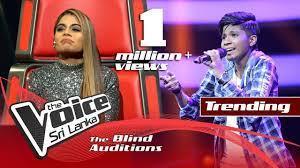eLanka | Harshi Hewawitharana – Ipadi Lowe (ඉපදී ලොවේ) | Blind Auditions | The Voice Sri Lanka