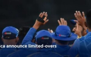 Sri Lanka, South Africa announce limited-overs series in September